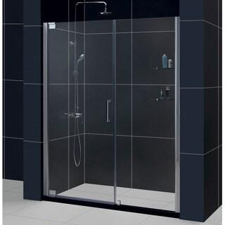 DreamLine Elegance 59 3/4 to 61 3/4-inch Frameless Pivot Shower Door