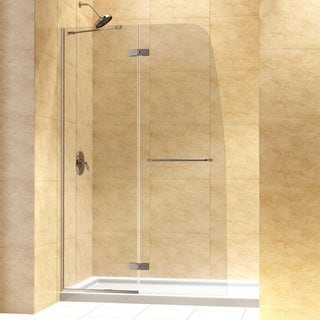 DreamLine Aqua Ultra 45-inch Frameless Hinged Shower Door