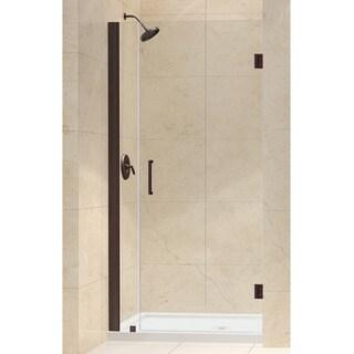 DreamLine Unidoor 31 to 32-inch Frameless Hinged Shower Door