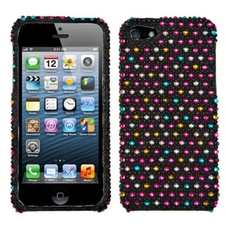 BasAcc Sprinkle Dots Diamante Protector Case for Apple� iPhone 5