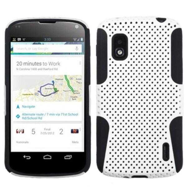 BasAcc White/ Black Astronoot Case for LG E960 Nexus 4