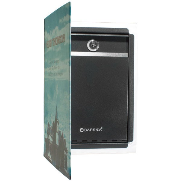 Dual Book Safe with Key Lock