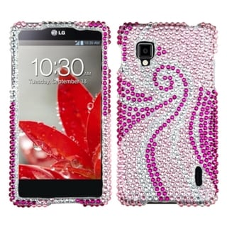 BasAcc Phoenix Tail Diamante Protector Case for LG LS970 Optimus G
