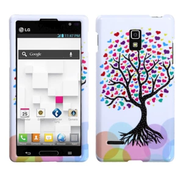 INSTEN Love Tree Phone Protector Phone Case Cover for LG P769 Optimus L9