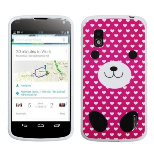 BasAcc Dog Love Candy Skin Case for LG E960 Nexus 4