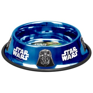 Platinum Pets Star Wars Darth Vader Non-Tip Bowl
