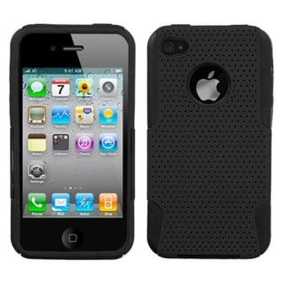 BasAcc Black Astronoot Phone Case for Apple iPhone 4S/ 4
