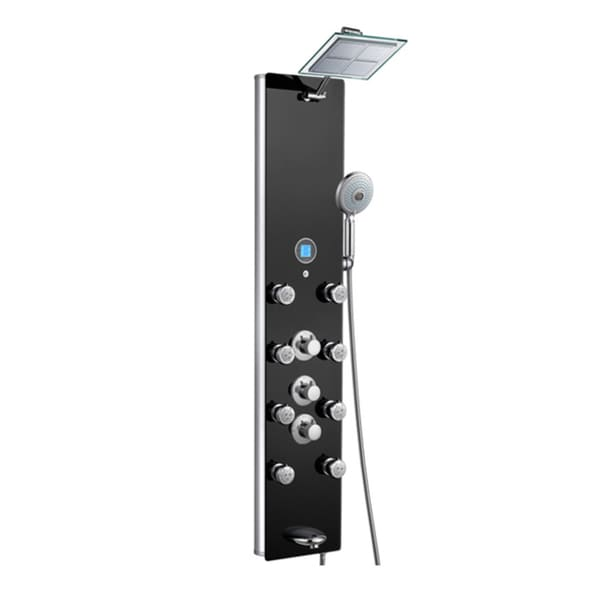 Blue Ocean 52-inch Aluminum Thermostatic Shower Panel Tower