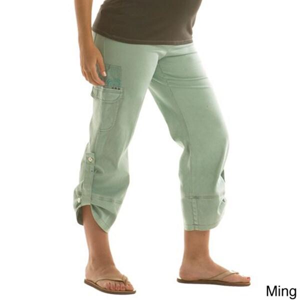 Juliet Dream Crop Cargo Maternity Pants