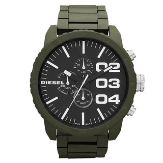 Diesel Men's Green Chronograph Watch