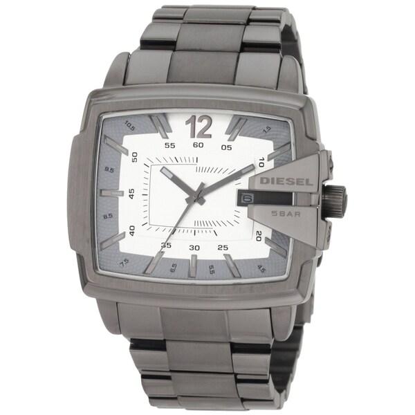Diesel Men's Gunmetal Stainless Steel Date Watch