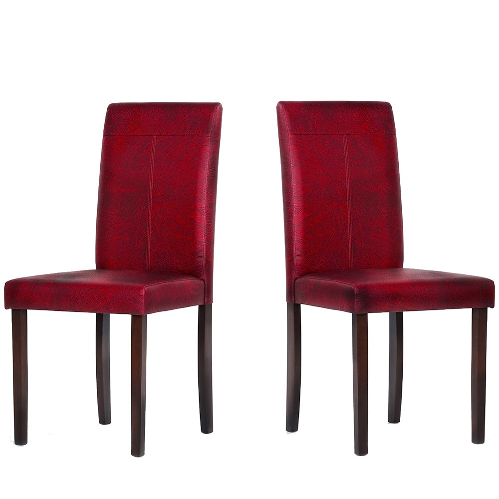 Camel back skirted parson chair chairs dining chairs  : Black Red Tone 2pc Black Red Tone 8pc Black Red Tone 4pc Warehouse of Tiffany Taflin Dining Room Chairs Set of 2 0053efca fa3d 4dfe 95d1 0e304554d31f from shopwiki.com size 1000 x 1000 jpeg 107kB