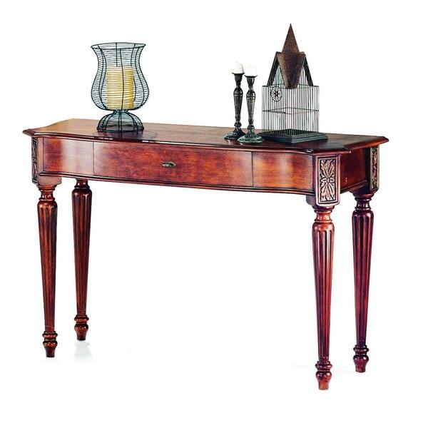 Sedona Cherry Veneer Wood Rectangular Sofa Table