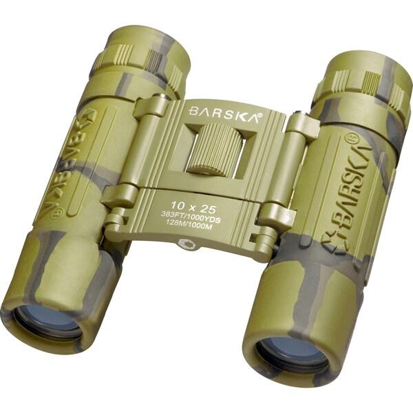10x25 Lucid View Camouflage Binoculars