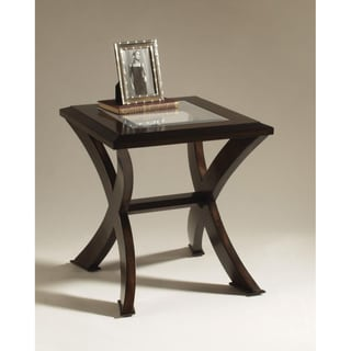 Roxboro Wood Rectangular End Table