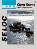 Seloc Mercruiser Stern Drives 1964-91 Repair Manual: Type 1, Mr, Alpha and Bravo I & II (Paperback)