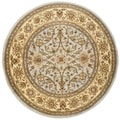 Safavieh Lyndhurst Majestic Grey/ Beige Rug (8' Round)