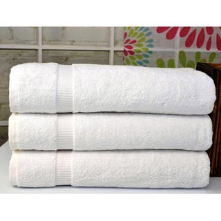 Cambridge Jumbo Bath Sheet Luxury Turkish Cotton Towels (Set of 3)