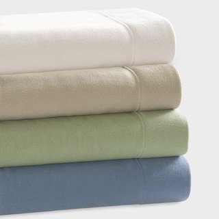 Premier Comfort Microfleece Knitted Solid Sheet Set