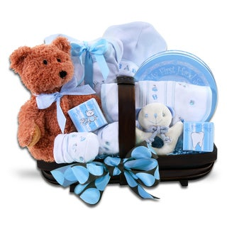 Alder Creek Gift Baskets Welcome Home Boy Baby Bundle