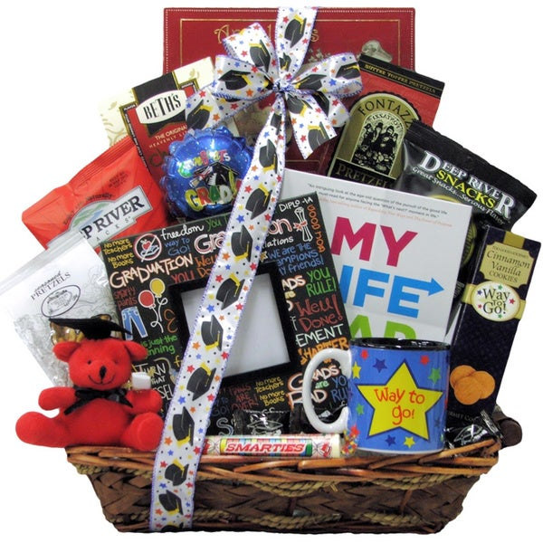 Hats Off To You Graduation Gift Basket