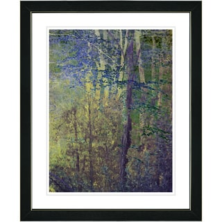 Studio Works Modern 'Summer Forest - Morning' Framed Art Print