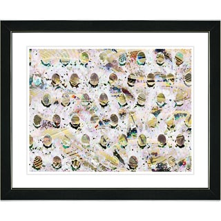 Studio Works Modern 'Golden Eggs' Framed Art Print