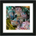 Studio Works Modern 'Royal Carnations - Morning Peach' Framed Art Print