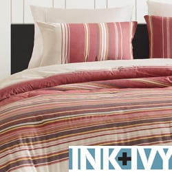 Ink and Ivy Tory 3-piece Duvet Cover Set