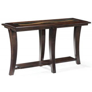 Magnussen Home Furnishings Tivoli Wood Rectangular Sofa Table