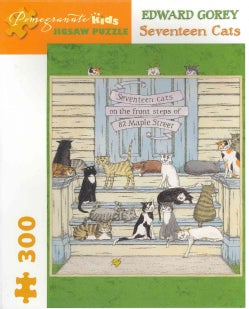Edward Gorey - Seventeen Cats: 300 Piece Puzzle (General merchandise)