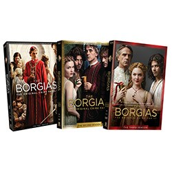 The Borgias: The Complete Series Pack (DVD)