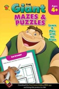 The Giant Mazes & Puzzles (Paperback)