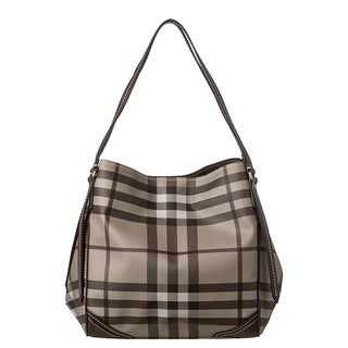 Burberry Medium Smoked Check Canterbury Tote