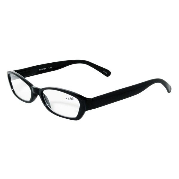 Noir Black Modern Reading Glasses