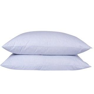 Old Fashion Style Granny Ticking Stripe Goose Down/ Feather Pillow