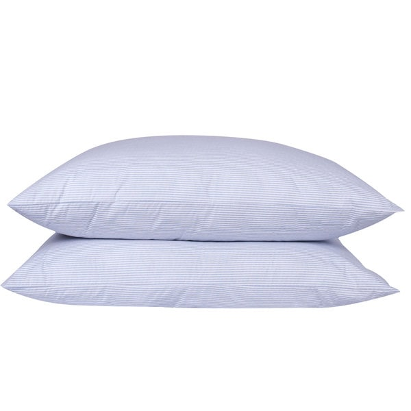 Old Fashion Style Granny Ticking Stripe Goose Down/ Feather Pillow in Body (As Is Item)