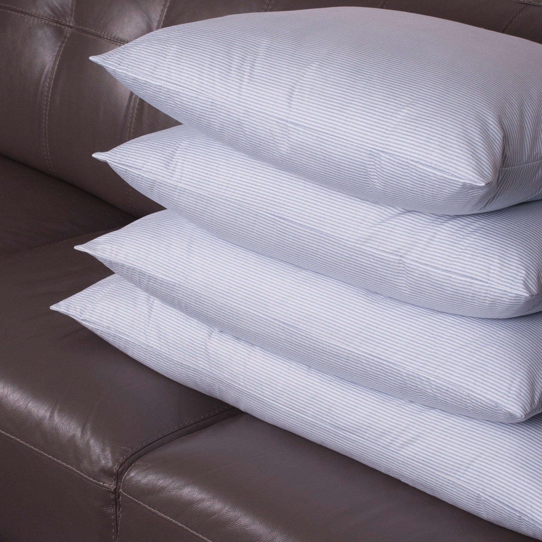 Old fashioned heavy feather pillows 37