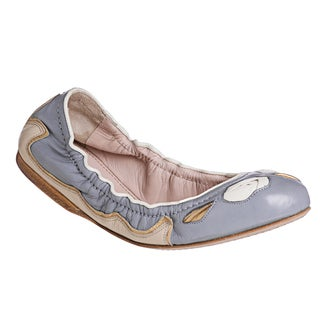Miu Miu Women's Flex Sole Multicolor Medium-Width Leather Flats