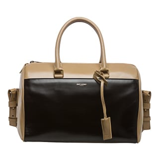 Saint Laurent Bi-color Classic Duffle Bag