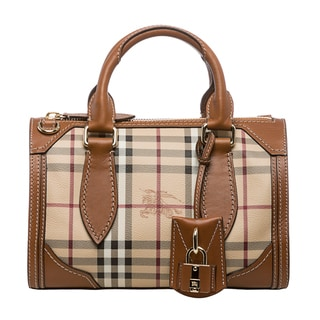 Burberry Small Haymarket Check Bowler