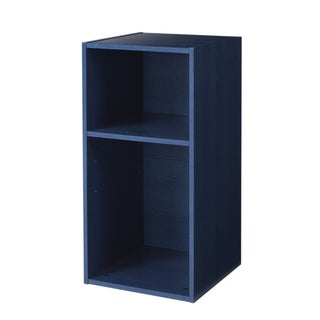 FlexHOME Kids Blue Pine 15-Inch Multifunctional Cube Bookcase
