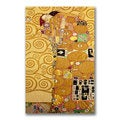 Gustav Klimt 'Fulfillment' Canvas Giclee Art