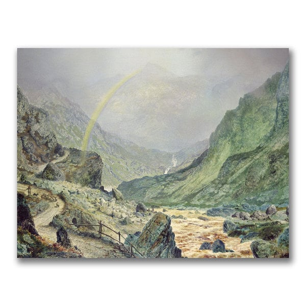 John Grimshaw 'The Seal of the Covenant' Canvas Art
