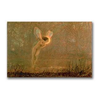 John Grimshaw 'Iris' Canvas Art