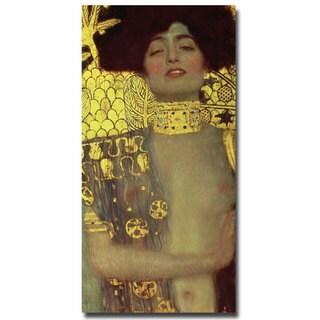 Gustav Klimt 'Judith, 1901' Canvas Art