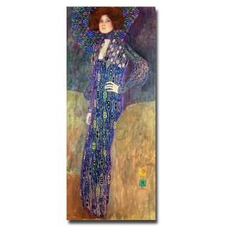 Gustav Klimt 'Emilie Floege' Canvas Art