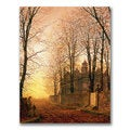 John Grimshaw 'In the Golden Olden Time' Canvas Art