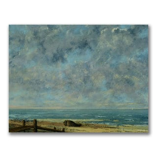 Gustave Courbet 'The Sea 1872' Canvas Art
