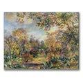 Pierre Renoir 'Landscape at Beaulieu' Canvas Art